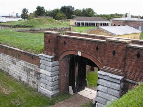 Fort Mifflin in Pennsylvania