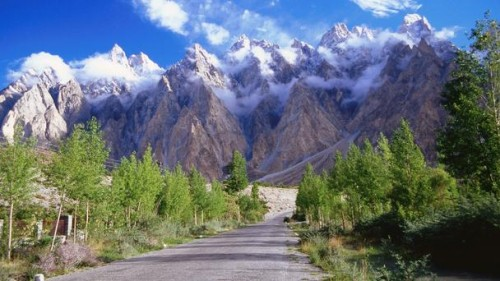 Karakoram Highway, China and Pakistan