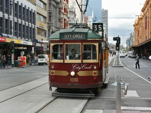 Take the City Circle Tram