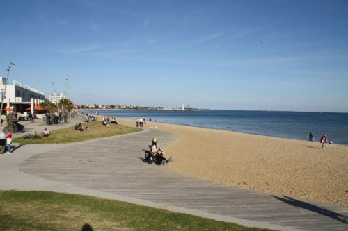 Visit the Beach at St Kilda
