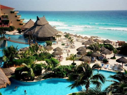 Cancun Islands in Mexico