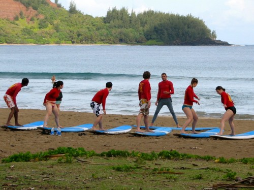 Surf Lessons Hanalei