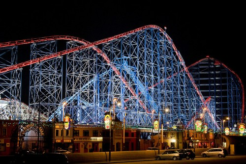 Blackpool Pleasure Beach, Lancashire, United Kingdom
