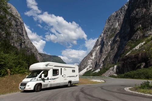 Travel Around Europe in a Motorhome