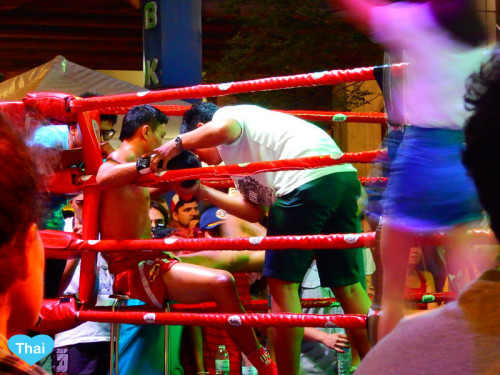 local boxing match