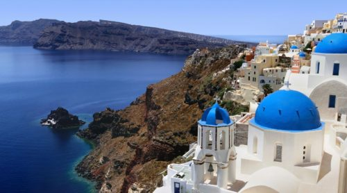 Fira in Greece
